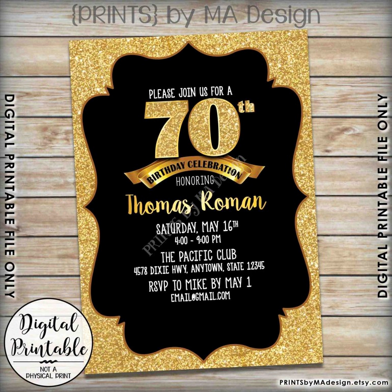 Wording for 70th Birthday Invitation Elegant Ideas Immaculate Ideas for 70th Birthday Invitations