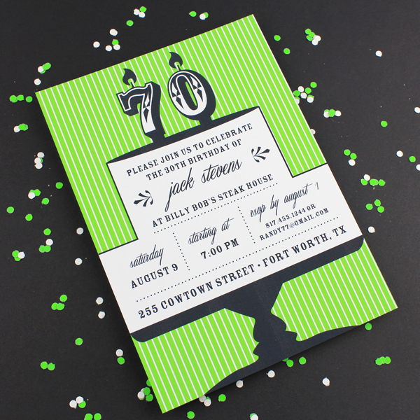 Wording for 70th Birthday Invitation Elegant Milestone Candle Birthday Invitation Template 70th