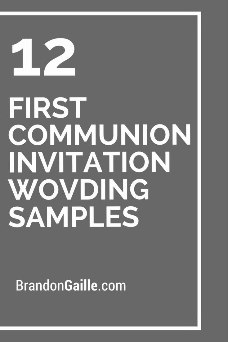 Wording for First Communion Invitation Best Of Best 25 First Munion Invitations Ideas On Pinterest