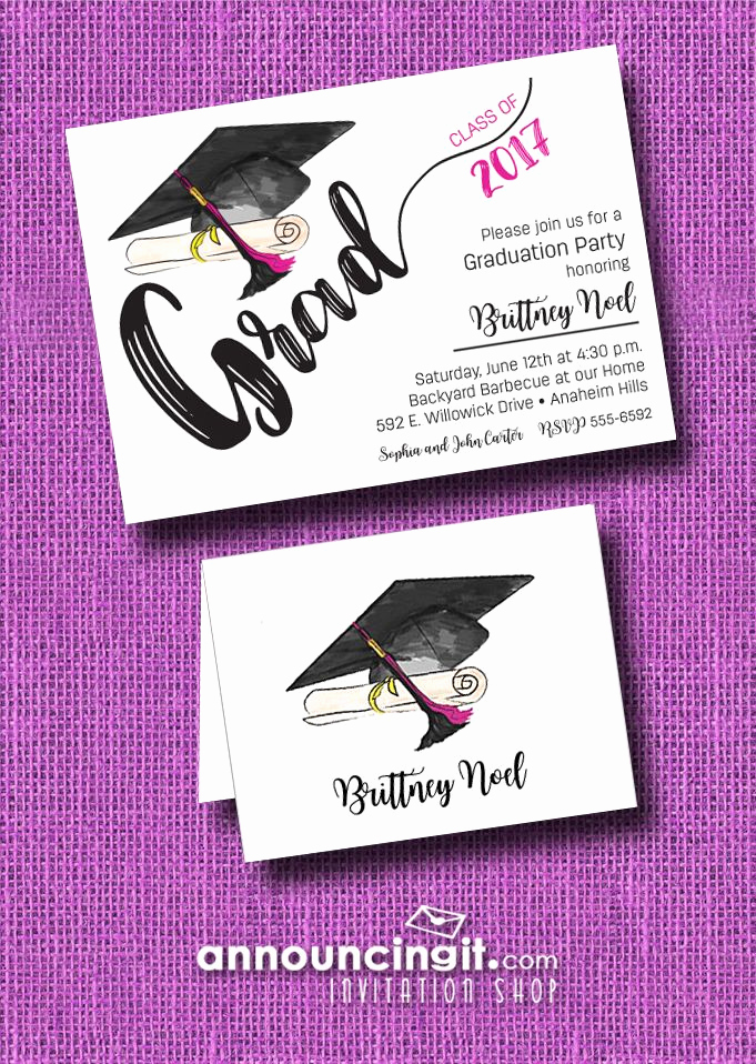 Wording for Graduation Invitation Elegant 25 Best Ideas About Graduation Announcements Wording On