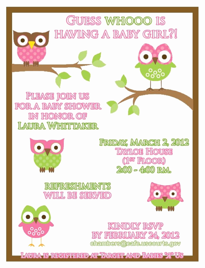 Work Baby Shower Invitation Awesome 103 Best Baby Shower Ideas Images On Pinterest