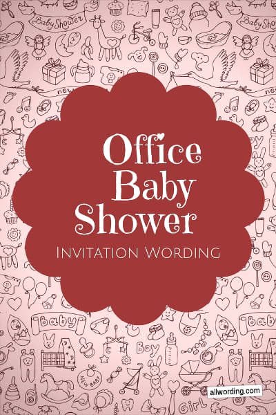 Work Baby Shower Invitation Best Of Fice Baby Shower Invitation Wording Allwording