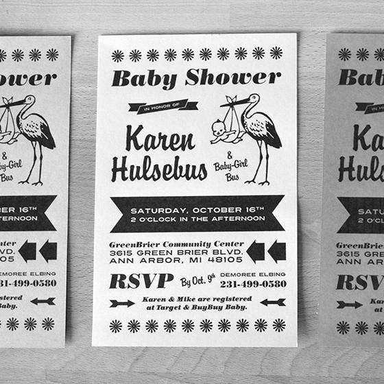 Work Baby Shower Invitation Inspirational Work Portfolio Graphic Design Web Design Demoree Elbing
