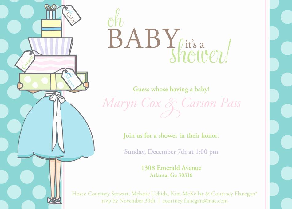work baby shower invitations wording