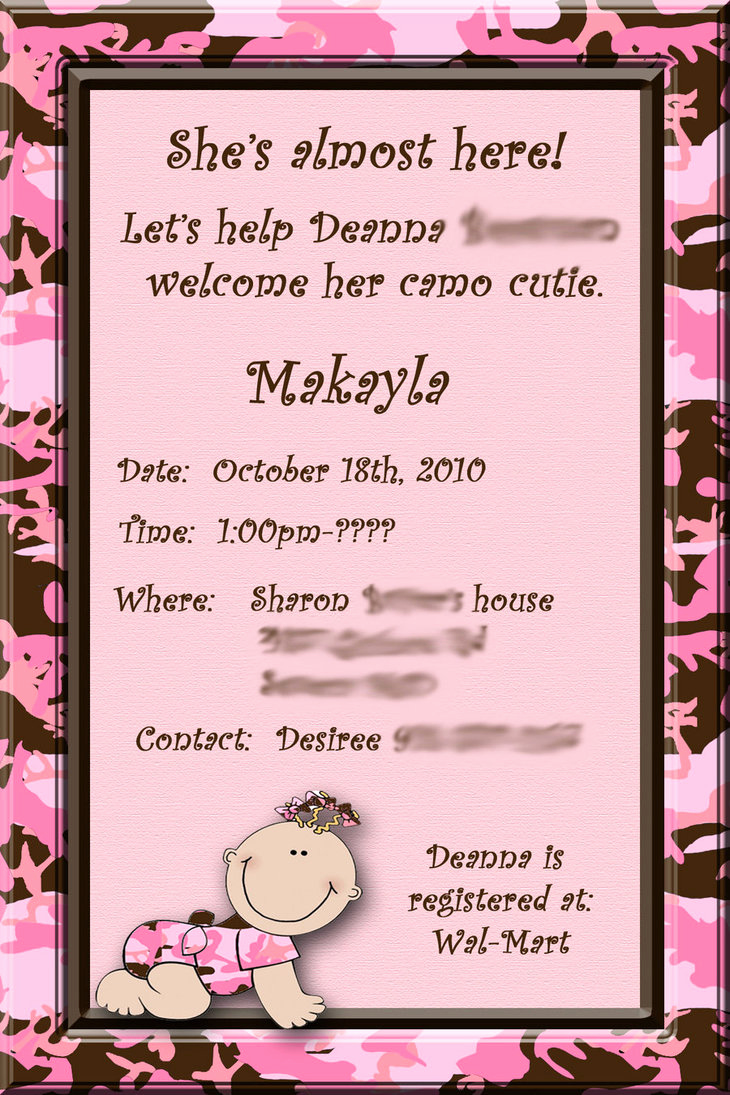 Work Baby Shower Invitation Wording Awesome Baby Shower Invitation by Desmar2u On Deviantart