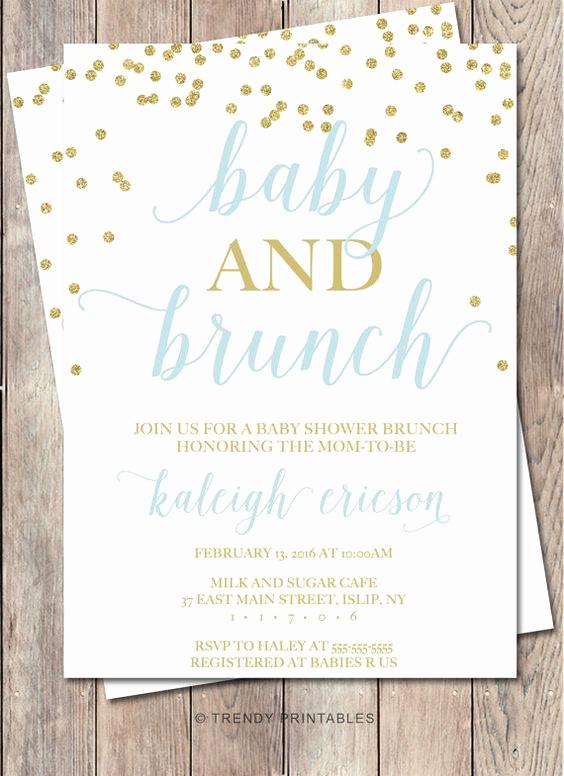 Work Baby Shower Invitation Wording Unique Baby Shower Invitation Baby Shower Brunch Baby by