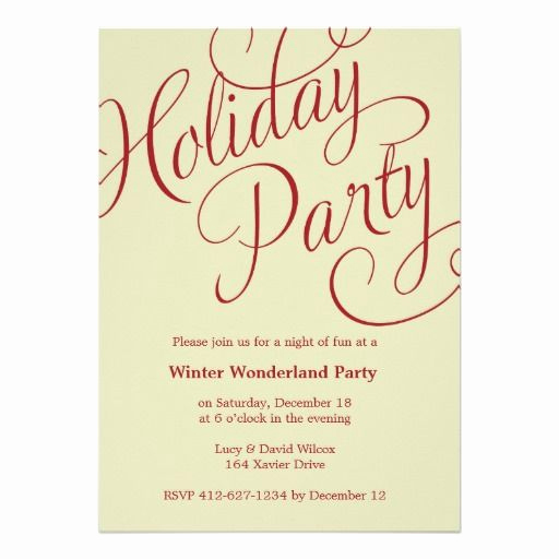 Work Christmas Party Invitation Elegant 21 Best Holiday Party Invitations Work Images On
