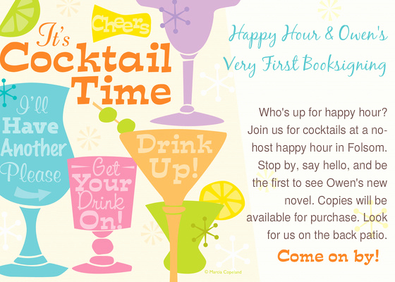 Work Happy Hour Invitation Wording Beautiful Happy Hour and Owen S 1st Booksigning Line Invitations