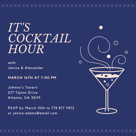 Work Happy Hour Invitation Wording New Customize 242 Happy Hour Invitation Templates Online Canva