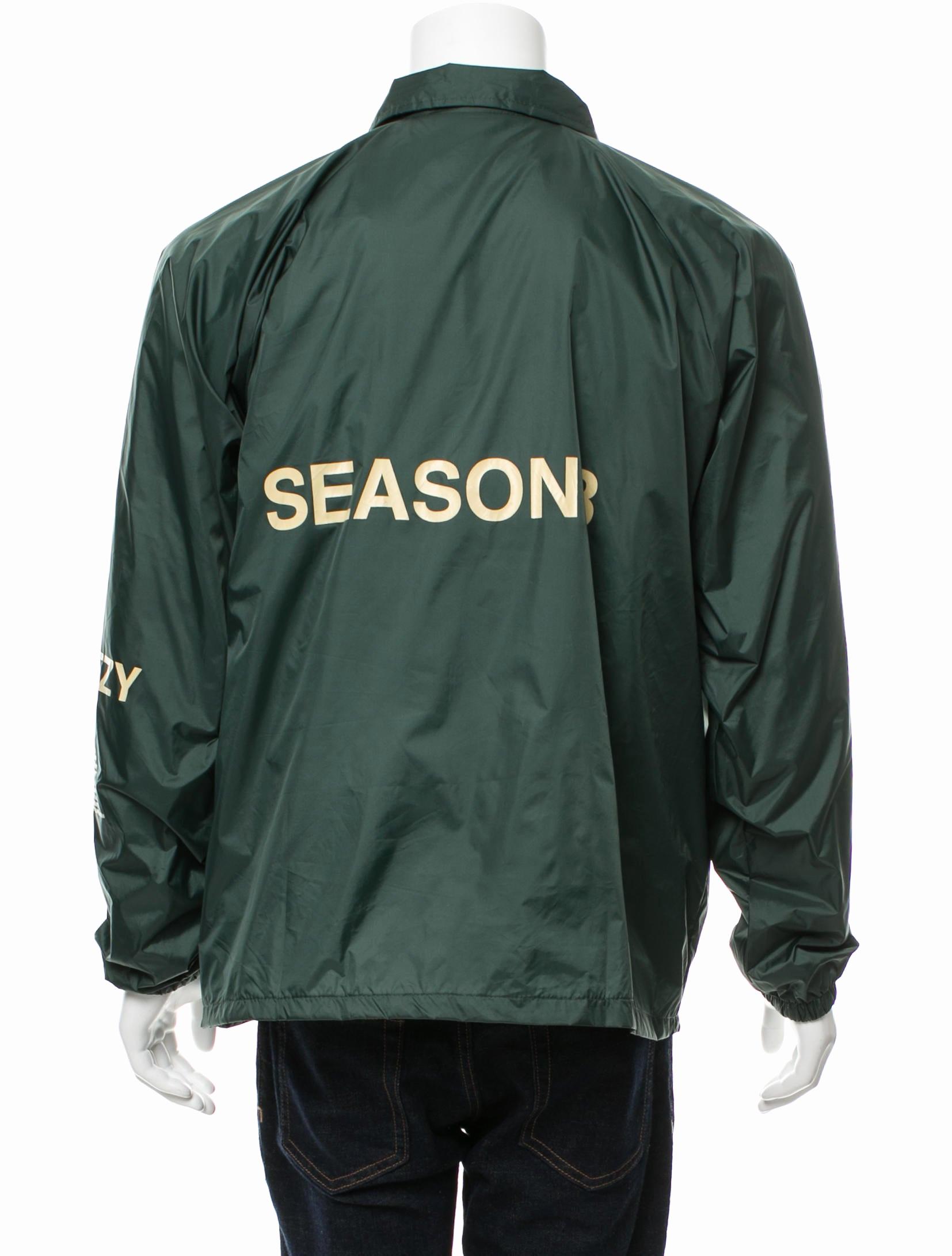 Yeezy Invitation 3 Windbreaker Beautiful Yeezy Season 3 Invitation Coaches Jacket Clothing