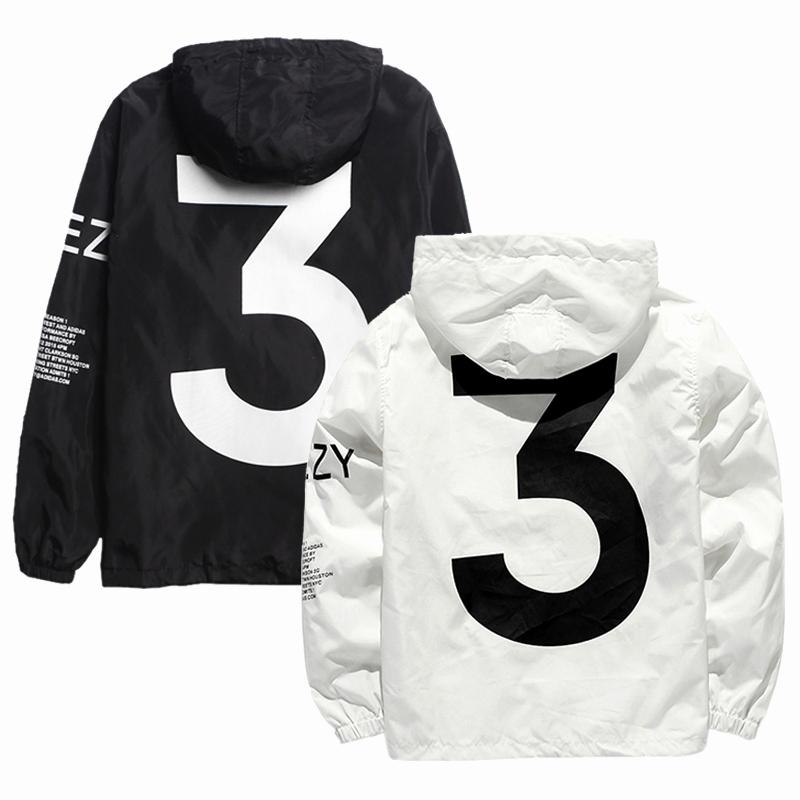 Yeezy Invitation 3 Windbreaker Luxury Popular Yeezus tour Limited Edition Yzy Streetwear