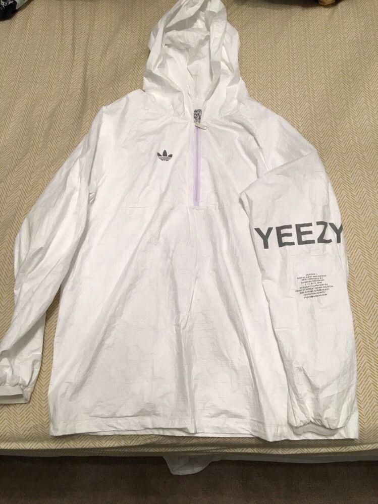 Yeezy Invitation 3 Windbreaker Luxury Yeezy Season 1 Tyvek Windbreaker Invitation Never Worn