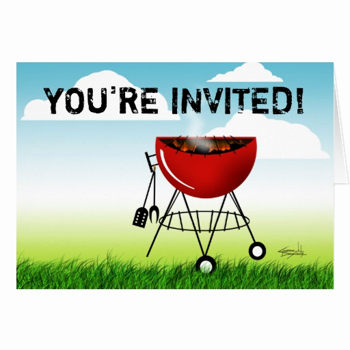 You Re Invited Invitation Lovely You Re Invited to A Cookout Invitation Barbeque Cards
