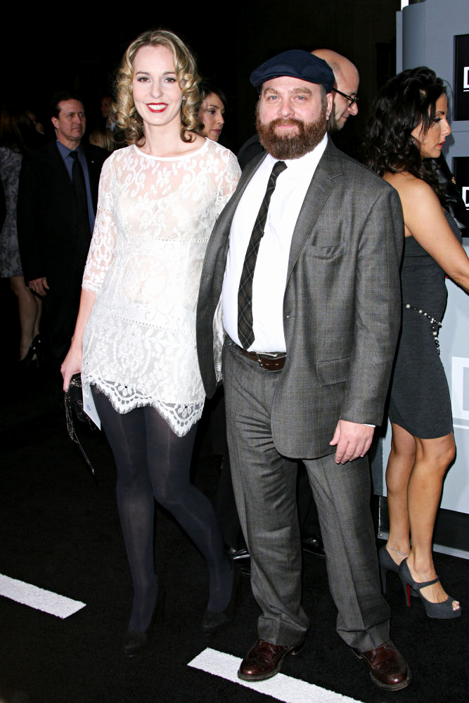Zach Galifianakis Wedding Invitation Elegant Engaged Zach Galifianakis Looks Like Little Troll In