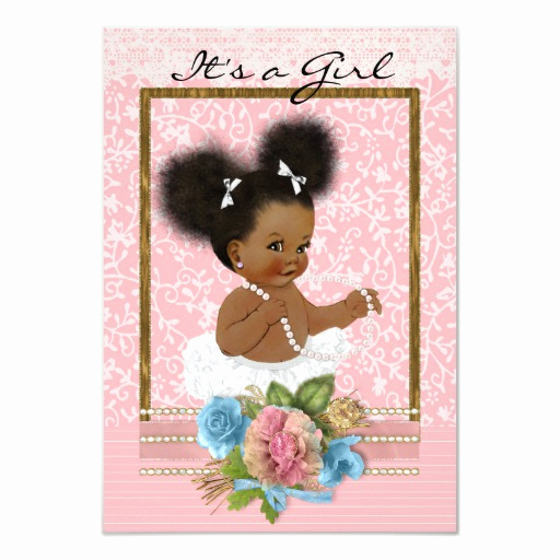 Zazzle Baby Shower Invitation Best Of African American Baby Shower Invitation