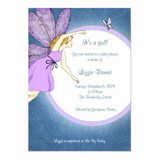 Zazzle Baby Shower Invitation Unique Fairy Baby Shower Invitation